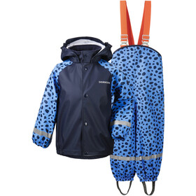 DIDRIKSONS Slaskeman 4 Rain Set Kids, breeze blue dots